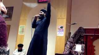 Tera Naam Khwaja & Jo bhi Dushman Hai Mere Raza Ka-Dr Hafiz Nisar Ahmed Marfani-Leicester 2013