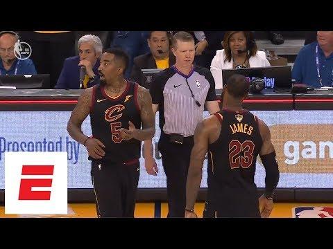 Final full sequence that sent Cavaliers vs. Warriors to OT [Game 1, 2018 NBA Finals] | ESPN