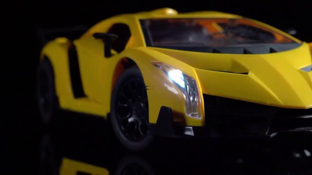 Download RAYA TOYS Кола Lamborghini с дистанционно и отварящи врати 1:12