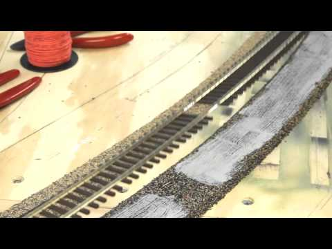 Modelling Railroad Train Scenery -ME flex track laying tips | getting good trackwork | Model Railroad Hobbyist | MRH