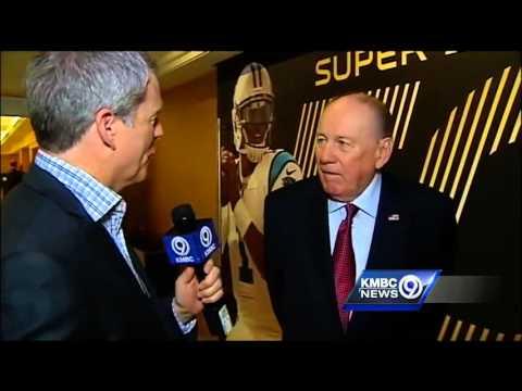Len Dawson enjoying Super Bowl 50 festivities