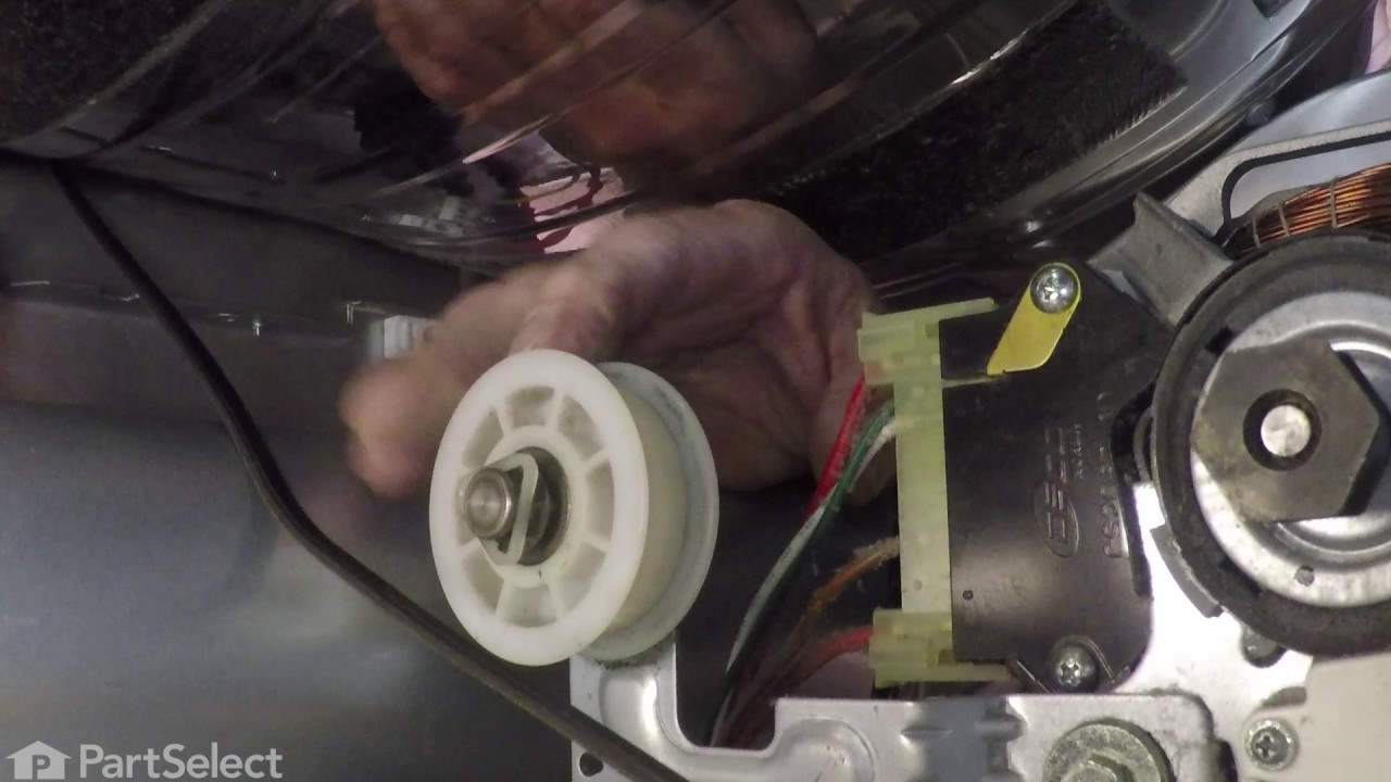 Lg Dryer Repair >> LG Dryer Repair - How to Replace the Drum Support Roller ...