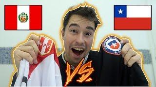 Así GANÓ el partido PERÚ vs CHILE!