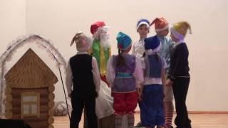 "Новый год на английском языке (Сказка ""Snow White"") ГБОУ Школа №1191"