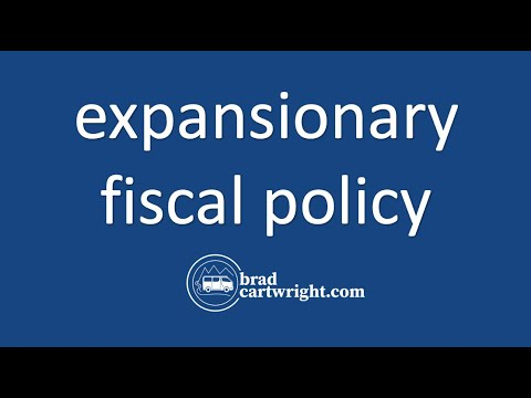 Fiscal Policy Unit:  Expansionary Fiscal Policy