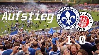 SV Darmstadt 98 VS. St  Pauli - Lilien Aufstieg 2015 24.05.2015 Die Heiner feiern!