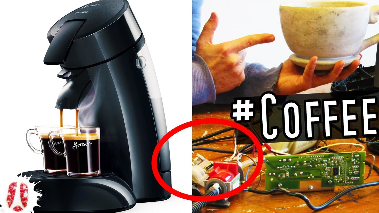 What Can You Find And Reuse Inside A Broken Philips Senseo Coffee Machine Tech Coffee