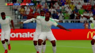 FIFA 18 World Cup Russian Full game Senegal vs Korean Republic