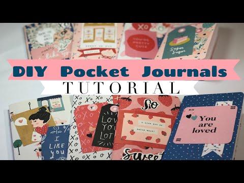 DIY Mini Pocket Journals | Simple Tutorial