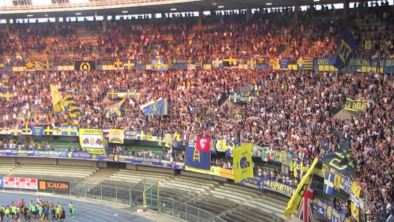 Verona Juve 2-2 Butei style curva sud Hellas 30.05.2015 ...