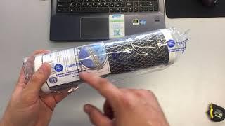 Aquafilter FCCBL картридж с прессованным активированным углём для очистки воды. Обзор