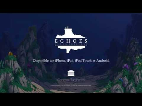 Cheese Burgames - Echoes : Deep-sea Exploration - Bande-annonce de lancement