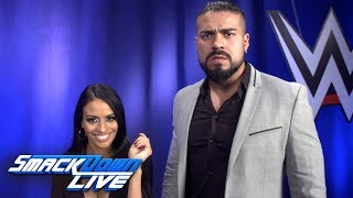 "Video Why is Andrade ""Cien"" Almas the future of SmackDown LIVE?: SmackDown Exclusive, June 19, 2018 download MP3, 3GP, MP4, WEBM, AVI, FLV Juni 2018"