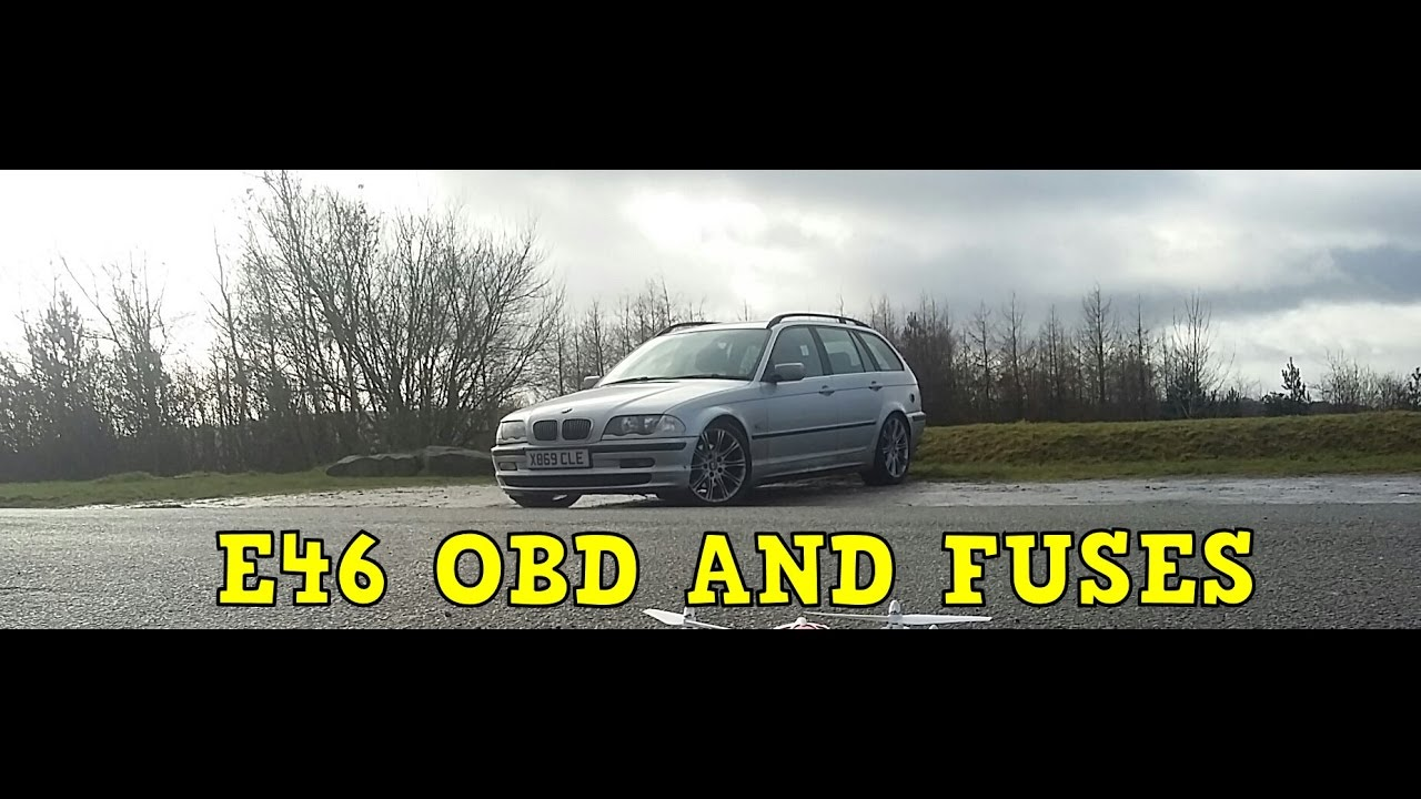 bmw e46 3 series obd and fuse locations youtube. Black Bedroom Furniture Sets. Home Design Ideas