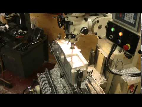 Machining new Bristol Centaurus sump