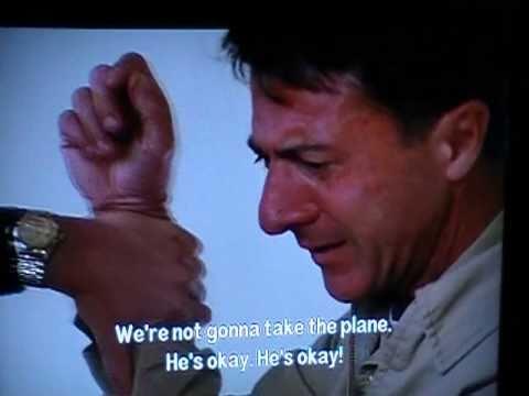 Rainman Airport Scene - Quantas Never Crashed - YouTube