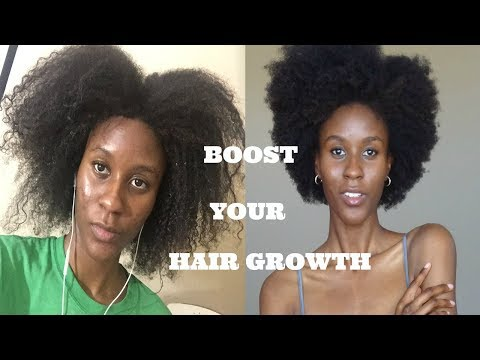 HOW to GROW HAIR FAST I Without Synthetic Biotin! Rapid Hair Growth, Hair Loss