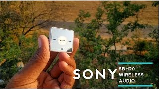 SONY SBH20 REVIEW