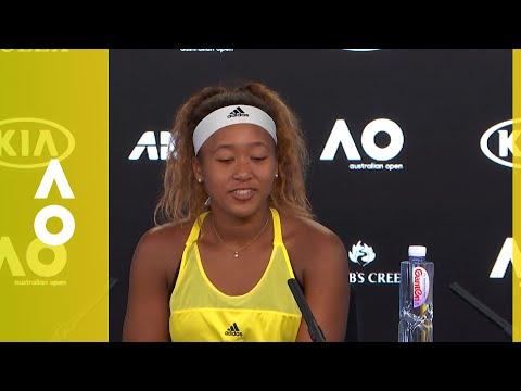 Naomi Osaka press conference (2R) | Australian Open 2018