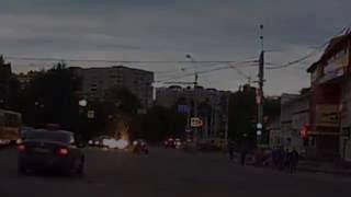 14.07.2016 Опасная езда. Чуть не сбил толпу людей (Ижевск)