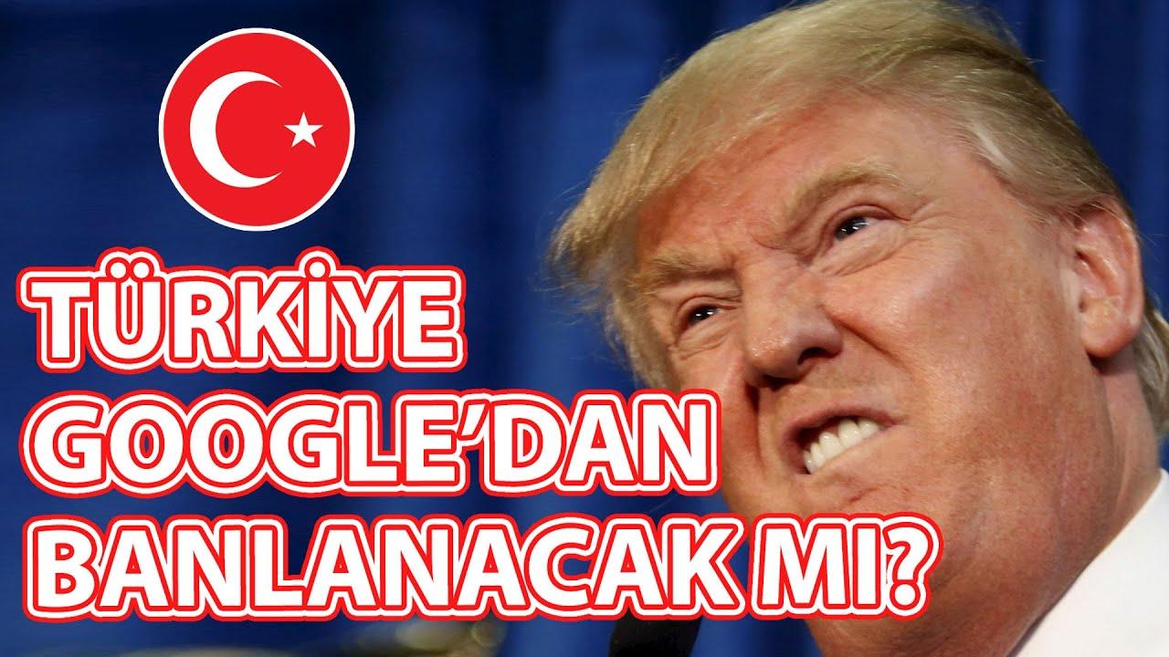 Google, Türkiye'yi Tüm Servislerinden Banlayacak mı?
