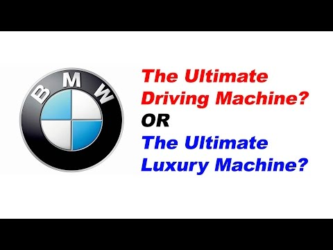 Is BMW the Ultimate Driving or Luxury Machine?