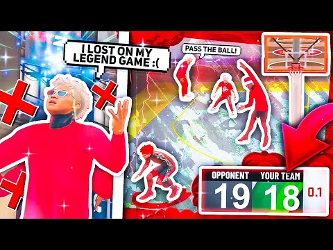 I made two legends lose there LEGEND REP UP game... or so they thought.. NBA2K20 |