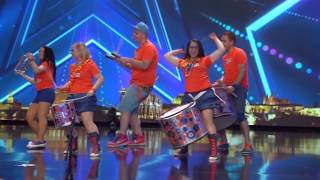 ČESKO SLOVENSKO MÁ TALENT 2015 - Bubenícka Show Tambores
