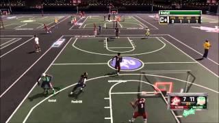 NBA2K15 PS4 MyPark #3 -RARE PHENOMENOM-Funny Gameplay
