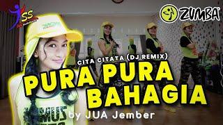 DJ PURA PURA BAHAGIA - Cita Citata Remix / Zumba / Choreo by Zin JUA_Jember