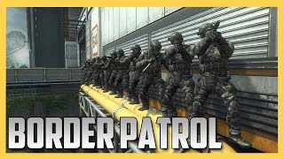 Border Patrol on BO2 (Snipers vs Runners)
