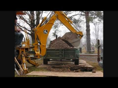 Operational Control video of the John Deere 110 tlb backhoe