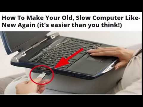 How To Make Your Old, Slow Computer Like-New Again (it's easier than you think!)