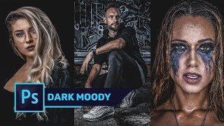 , Wie man Erstellen Sie DARK & MOODY-Color-Effekt in Photoshop | Free Preset
