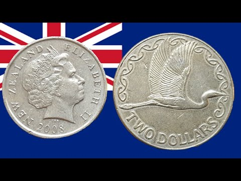 New Zealand $1 And $2 Error Coins