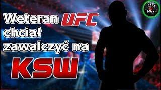 Weteran UFC chciał zawalczyć na KSW !