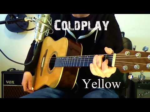 Coldplay - Yellow acoustic cover
