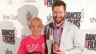 Hollywood—Crazy Sriracha Art, Superman, Cine Gear Expo