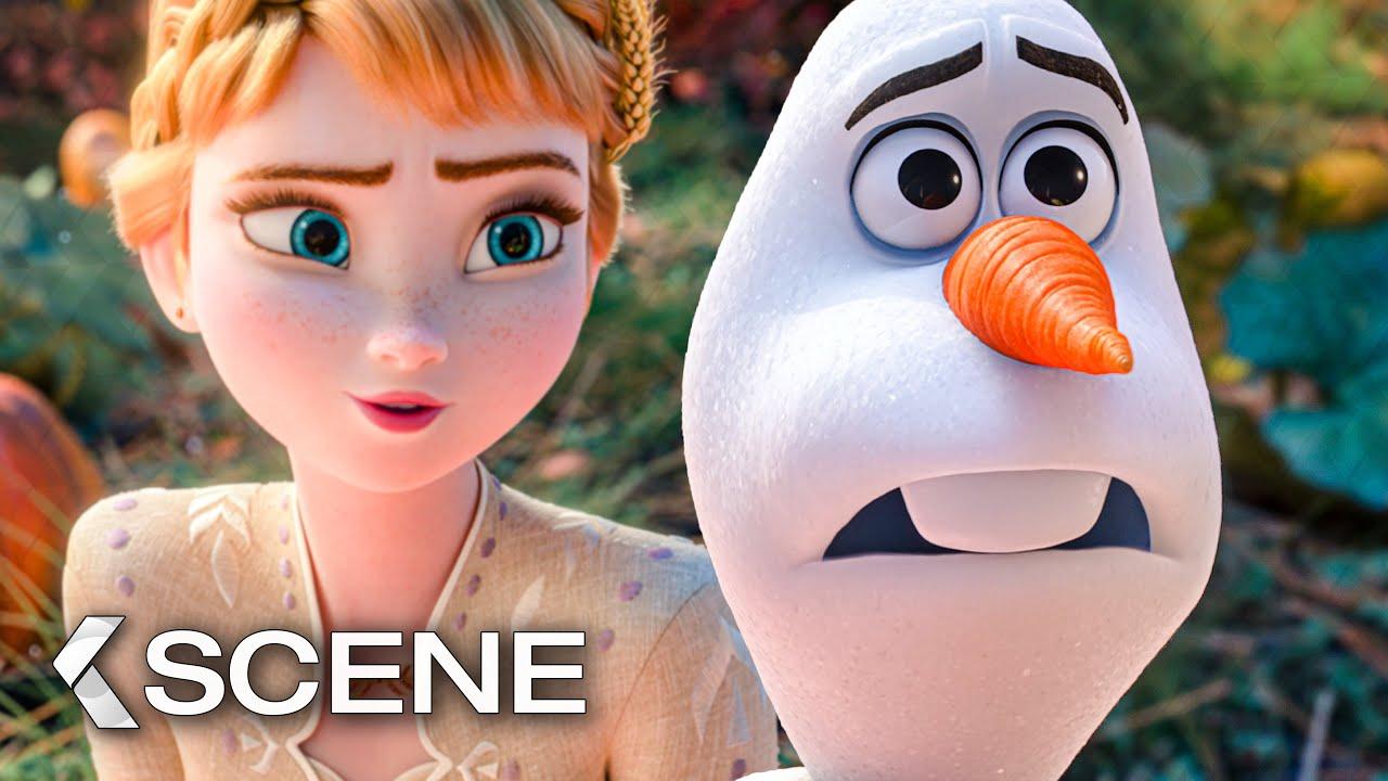 Poetic Olaf Scene Frozen 2 2019