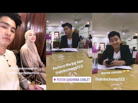 Emma Maembong perli Alvin Chong tak boleh berenggang dengan cermin | Awak Suka Saya Tak