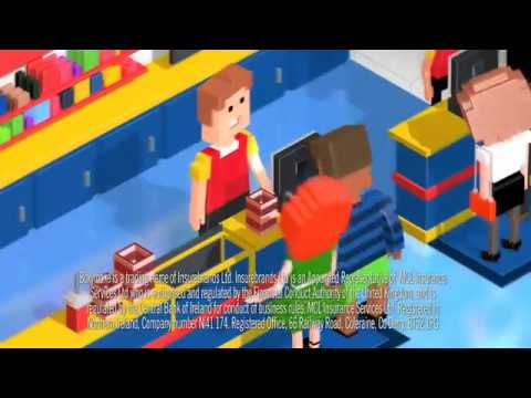 Boxymo Car Insurance   (Cinema Scene)
