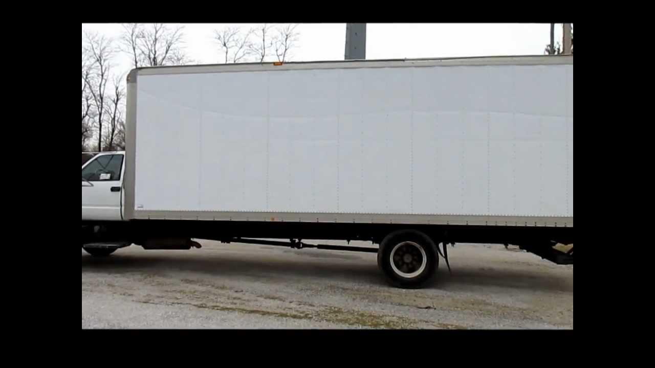 1999 gmc c6500 box truck for sale