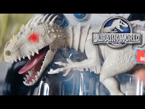 Indominus Rex Zoomer Dino Review & GIVEAWAY!! + Other Dinosaurs