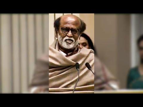 🔴Video: இந்த விருது எனக்கு கிடைச்சதுக்கு இவரு தான் காரணம் - Rajini Emotional Speech