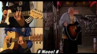 Tenacious D - Beelzeboss guitar(electric & acoustic) cover