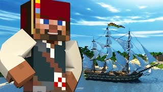 Minecraft Pirates : TREASURE HUNT!