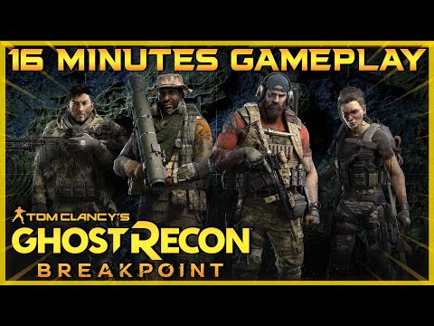 Ghost Recon Breakpoint | 16 minutes gameplay