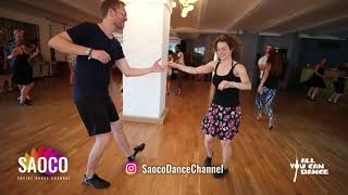 Andi No and Anne Trantow Salsa Dancing at Berlin Salsa Marathon 2018, Sunday 19.08.2018