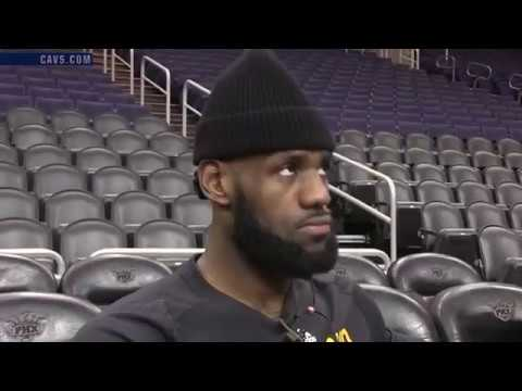 LeBron James says the Cleveland Cavaliers need a rim protector