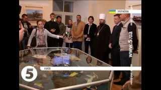 В Андріївській церкві у столиці відкрили виставку пам'яті загиблим героям